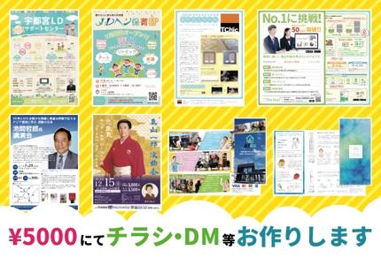 デザインを5000円にて行います。365日24時間稼働。