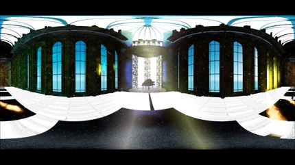 SNS向け VR(360°パノラマ)CG動画制作