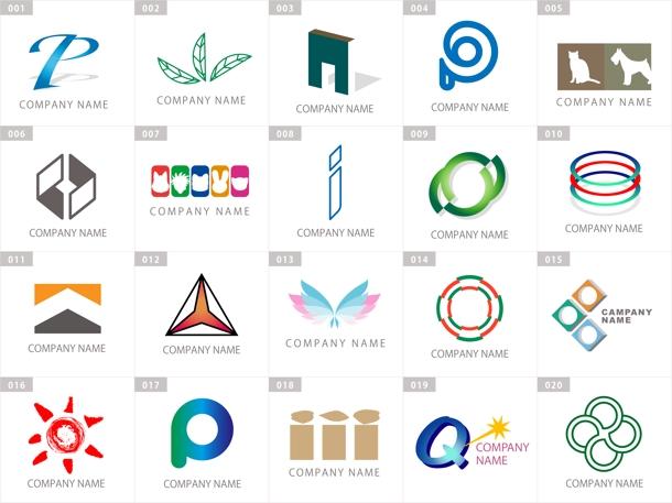 140種類!☆完成済ロゴマークに名前を入れ仕上ます | ロゴ作成 ...