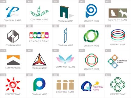 140種類!☆完成済ロゴマークに名前を入れ仕上ます
