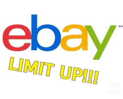 【特別価格・交渉実績100件以上】ebayリミットアップ代行します