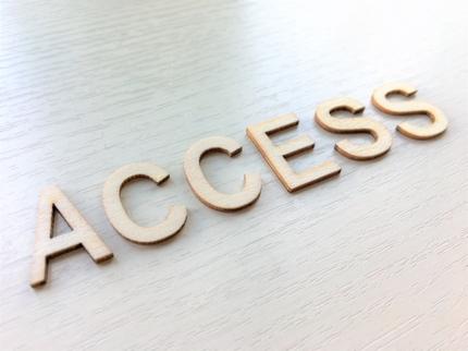 Accessでの開発