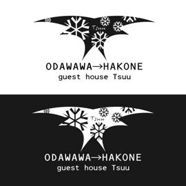 ゲストハウスのロゴ