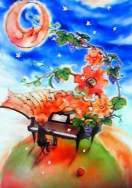 ピアノと小鳥と歯車