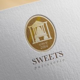 スウィーツのお店(洋菓子店)ロゴ制作