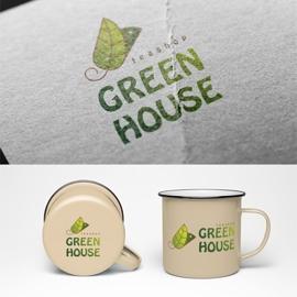 紅茶専門店のロゴデザイン