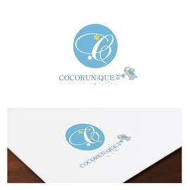 COCORUNiQUE様 ロゴデザイン