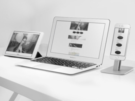 美容・サロン系サイト/スタイリッシュなレスポンシブ対応Wordpressサイト