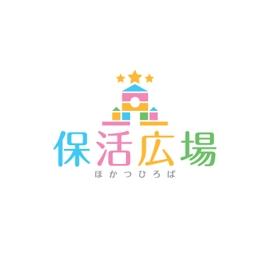 保活広場のロゴデザイン