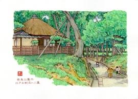 奈良公園 江戸三附近