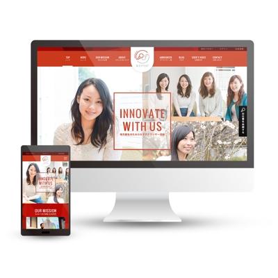 女子アナ47_webサイトデザイン