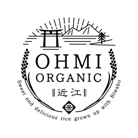 オーガニック米のブランドロゴのデザイン 制作