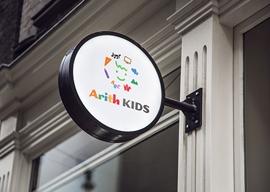 学童教室のロゴ デザイン
