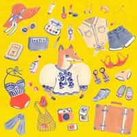 【かわいい・おしゃれ・レトロ】ファッション・雑貨のイラスト