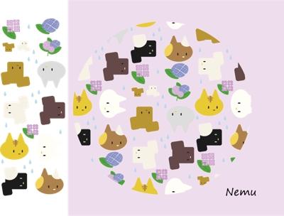 【パターン例】オリジナル キャラクターイラスト
