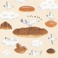 【かわいい・ナチュラル】パンのイメージイラスト(イラスト&デザイン)