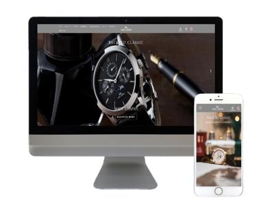 新ブランド【KARL-LEIMON】ムーンフェイズ腕時計の越境ECサイト構築