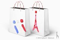 Francfranc フランフラン ショッピングバッグデザインコンテスト - 優秀賞