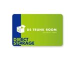 トランクルーム入退室用ICカードのデザインへの提案