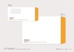 yukaOtaさんの長3封筒 横(窓付)と角2封筒 横 のデザインへの提案