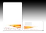 luxman0218さんの長3封筒 横(窓付)と角2封筒 横 のデザインへの提案
