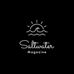 hype_creatureさんのウェブマガジン「Saltwater Magazine」のロゴ制作への提案