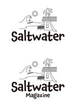 akiray1さんのウェブマガジン「Saltwater Magazine」のロゴ制作への提案