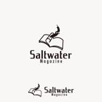 edesign213さんのウェブマガジン「Saltwater Magazine」のロゴ制作への提案