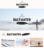 A_west-villageさんのウェブマガジン「Saltwater Magazine」のロゴ制作への提案