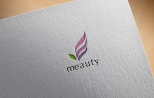 hayate_designさんの☆新規設立☆セルフエステ「meauty」のロゴマークへの提案