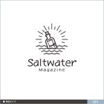 neomasuさんのウェブマガジン「Saltwater Magazine」のロゴ制作への提案