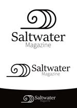 ttsoulさんのウェブマガジン「Saltwater Magazine」のロゴ制作への提案