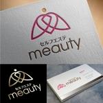 t-youhaさんの☆新規設立☆セルフエステ「meauty」のロゴマークへの提案