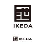 k_masaさんの住生活総合サービス業「池田建設」のワードロゴへの提案