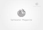 cazyさんのウェブマガジン「Saltwater Magazine」のロゴ制作への提案