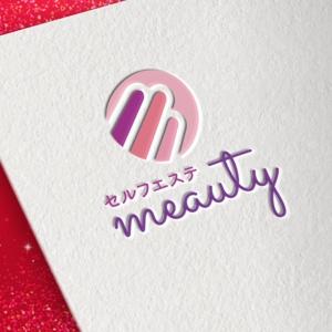 HeartBeatさんの☆新規設立☆セルフエステ「meauty」のロゴマークへの提案