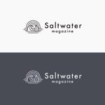 J-wonderさんのウェブマガジン「Saltwater Magazine」のロゴ制作への提案