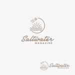 atomgraさんのウェブマガジン「Saltwater Magazine」のロゴ制作への提案