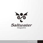 sa_akutsuさんのウェブマガジン「Saltwater Magazine」のロゴ制作への提案
