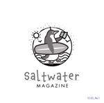 d-nishicomさんのウェブマガジン「Saltwater Magazine」のロゴ制作への提案