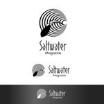dscltyさんのウェブマガジン「Saltwater Magazine」のロゴ制作への提案