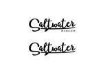 kitazawa07さんのウェブマガジン「Saltwater Magazine」のロゴ制作への提案