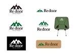 kkstyleさんのキャンプ/アウトドアブランド「Re door 」のロゴへの提案