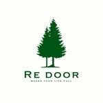 swivelさんのキャンプ/アウトドアブランド「Re door 」のロゴへの提案