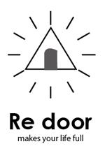 AkihikoMiyamotoさんのキャンプ/アウトドアブランド「Re door 」のロゴへの提案