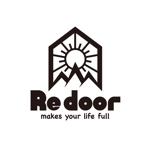 MaBo_Designさんのキャンプ/アウトドアブランド「Re door 」のロゴへの提案