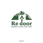 HeartBeatさんのキャンプ/アウトドアブランド「Re door 」のロゴへの提案