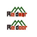 HideakiYoshimotoさんのキャンプ/アウトドアブランド「Re door 」のロゴへの提案