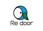 shibazakuraさんのキャンプ/アウトドアブランド「Re door 」のロゴへの提案