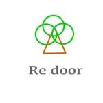 GaGamarukoさんのキャンプ/アウトドアブランド「Re door 」のロゴへの提案